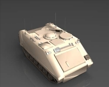 m113 armored personnel carrier 3d model 3ds max x lwo ma mb obj 101434