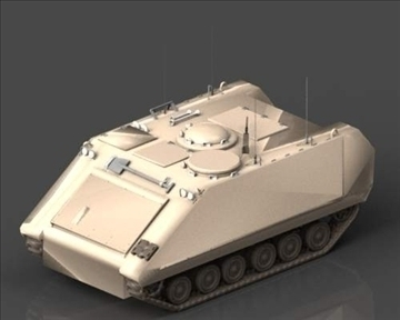 m113 armored personnel carrier 3d model 3ds max x lwo ma mb obj 101435