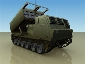 .m279_mlrs_artillery 3d model 3ds màx 99276