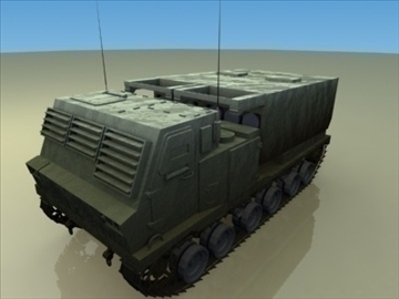 .m279_mlrs_artillery 3d model 3ds max 99279