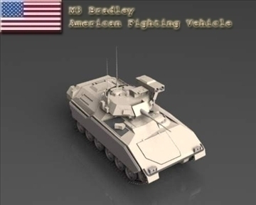 m2m3 bradley fighting vehicle 3d model 3ds max x lwo ma mb obj 101391