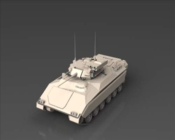 m2m3 bradley fighting vehicle 3d model 3ds max x lwo ma mb obj 101393