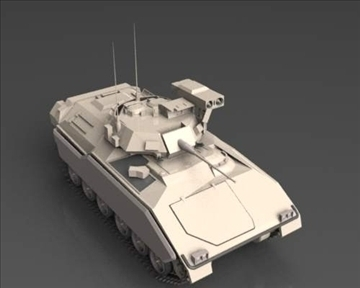 m2m3 bradley fighting vehicle 3d model 3ds max x lwo ma mb obj 101394