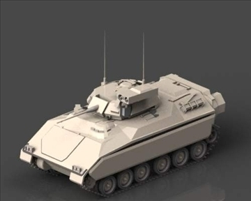 m2m3 bradley fighting vehicle 3d model 3ds max x lwo ma mb obj 101395