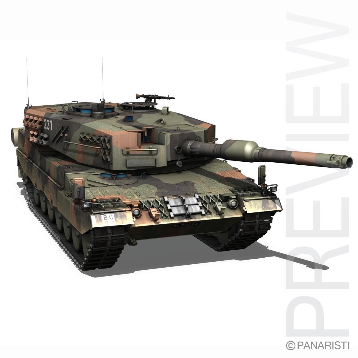 panzer 87 – swiss army 3d model 3ds c4d lwo texture obj 132935