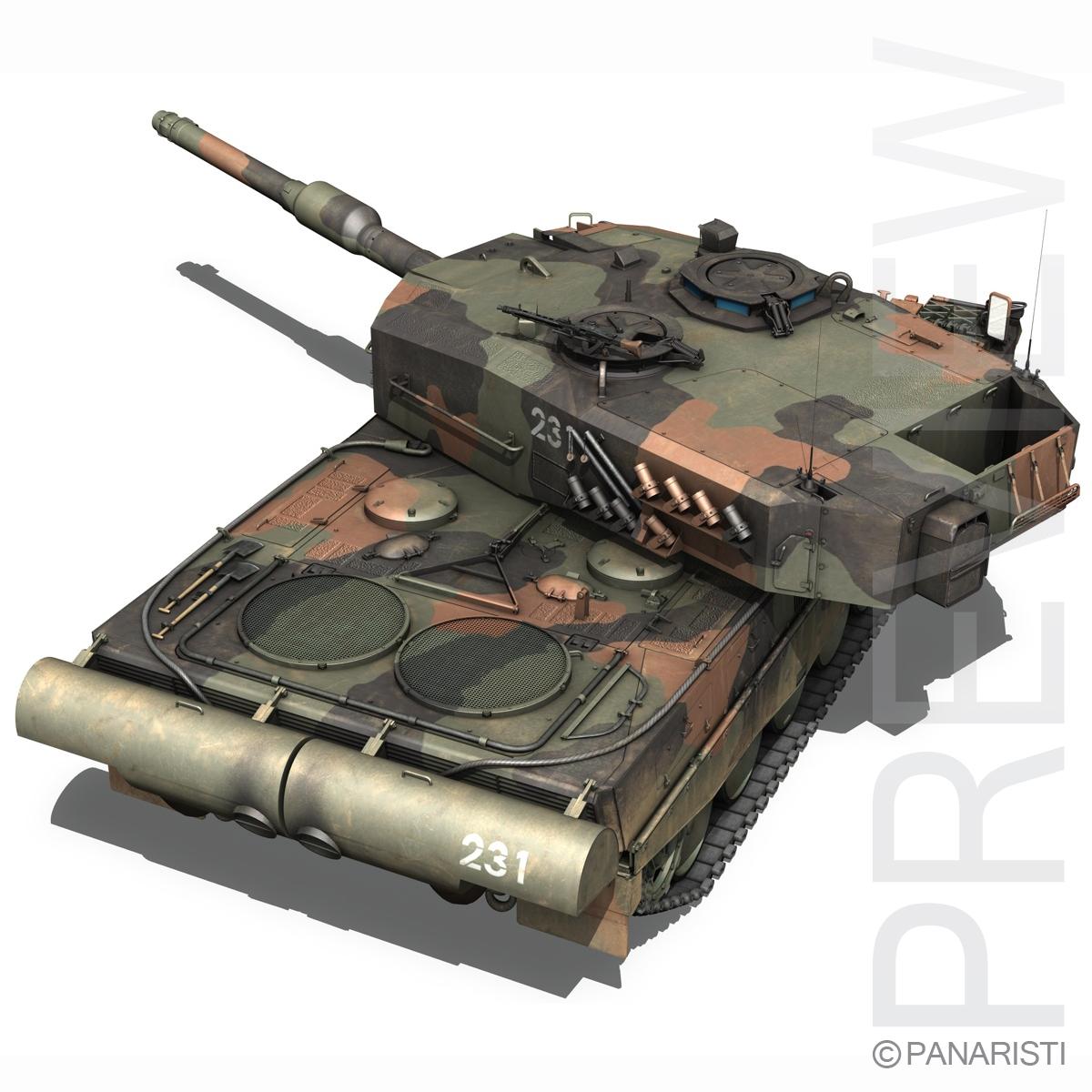panzer 87 – swiss army 3d model 3ds c4d lwo texture obj 132939