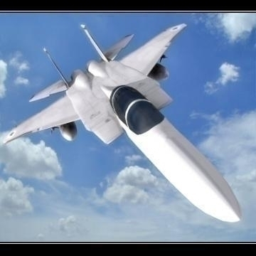 realistic lowpoly f-15e plane 3d model 3ds max obj 77204