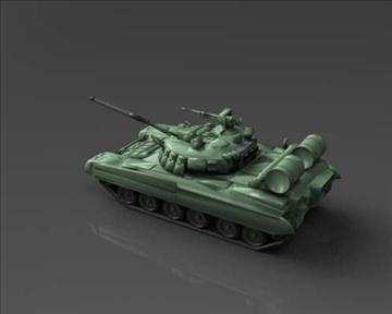 t 80 soviet main battle tank 3d model 3ds max x lwo ma mb obj 101371