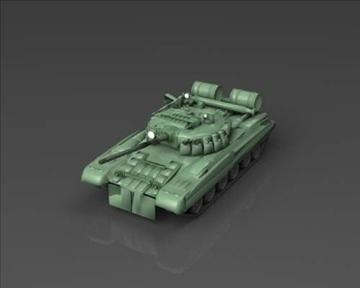 t 80 soviet main battle tank 3d model 3ds max x lwo ma mb obj 101372