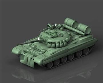 t 80 soviet main battle tank 3d model 3ds max x lwo ma mb obj 101374