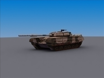 T72 MBT_3DModel ( 31.14KB jpg by 3DArtisan )