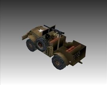 ww2 american dodge wc 57 3d model 3ds max x lwo ma mb obj 104064