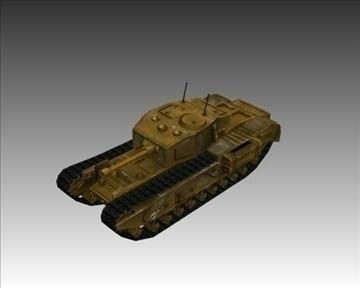 ww2 britanski churchill mk vii krokodil 3d model 3ds max x lwo ma mb obj 104384