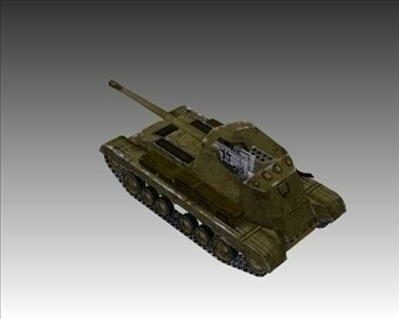ww2 british mk i archer 3d model 3ds max x lwo ma mb obj 104389