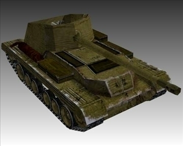 ww2 british mk i archer 3d model 3ds max x lwo ma mb obj 104391