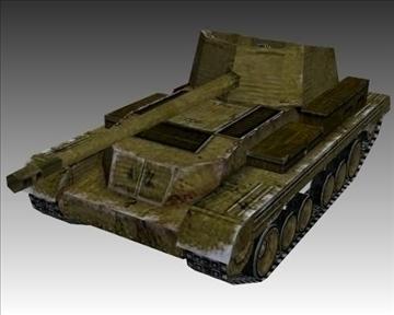 ww2 british mk i archer 3d model 3ds max x lwo ma mb obj 104392