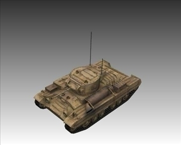 ww2 british valentine mk iii infantry tank 3d model 3ds max x lwo ma mb obj 104213