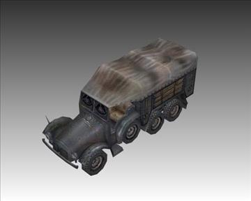 ww2 njemački krupp l2 3d model 3ds max x lwo ma mb obj 103943