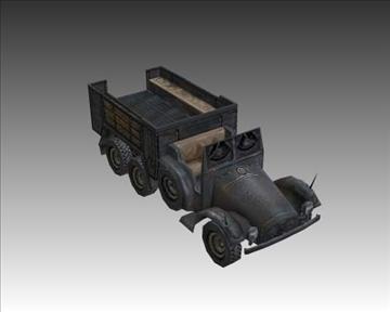 ww2 njemački krupp l2 3d model 3ds max x lwo ma mb obj 103947