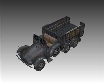 ww2 njemački krupp l2 3d model 3ds max x lwo ma mb obj 103949
