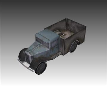 ww2 german military vehicles 3d model 3ds max x lwo ma mb obj 103953