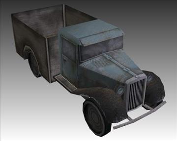 ww2 german military vehicles 3d model 3ds max x lwo ma mb obj 103954
