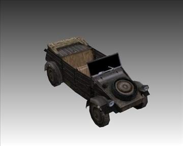 ww2 german military vehicles 3d model 3ds max x lwo ma mb obj 103956