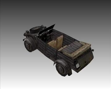 ww2 german military vehicles 3d model 3ds max x lwo ma mb obj 103957
