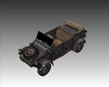 ww2 german military vehicles 3d model 3ds max x lwo ma mb obj 103958