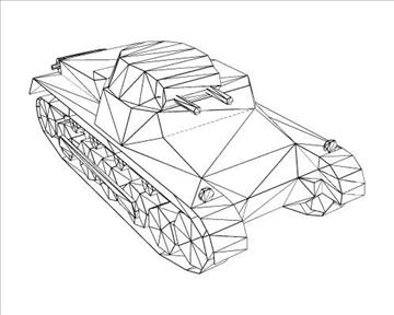 ww2 njemački sdkfz 101 b 3d model 3ds max x lwo ma mb obj 103874