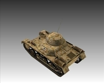 ww2 german sdkfz 101 flammpanzer 3d model 3ds max x lwo ma mb obj 103864