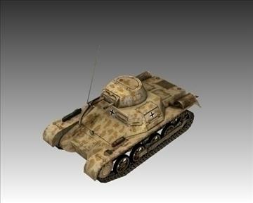 ww2 german sdkfz 101 flammpanzer 3d model 3ds max x lwo ma mb obj 103865