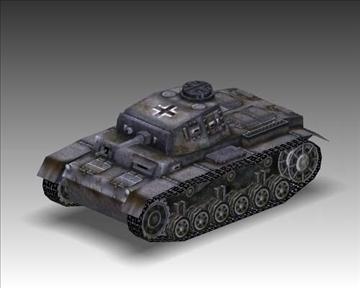 ww2 njemački sdkfz 141 ausf. f 3d model 3ds max x lwo ma mb obj 103879