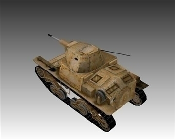 ww2 itaalia karro armato l640 3d mudel 3ds max x lwo ma mb obj 103936