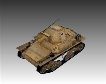 ww2 itaalia karro armato l640 3d mudel 3ds max x lwo ma mb obj 103937