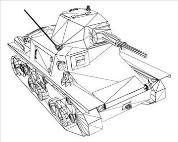 ww2 itaalia karro armato l640 3d mudel 3ds max x lwo ma mb obj 103940