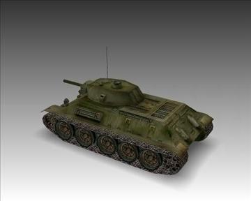 ww2 soviet t 34 m42 tank 3d model 3ds max x lwo ma mb obj 103924