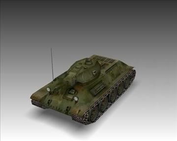 ww2 soviet t 34 m42 tank 3d model 3ds max x lwo ma mb obj 103925