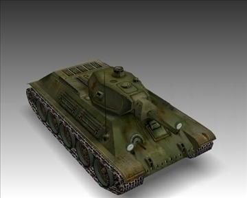 ww2 soviet t 34 m42 tank 3d model 3ds max x lwo ma mb obj 103926