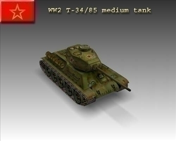 ww2 tanc 3485 3d model 3ds max x lwo ma mb obj 103917
