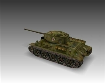 ww2 soviet t 3485 танк 3d загвар 3ds max x lwo ma mb obj 103918