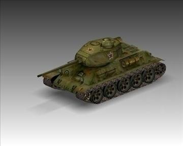 ww2 soviet t 3485 танк 3d загвар 3ds max x lwo ma mb obj 103921
