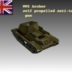 WW2 British Mk I Archer ( 41.41KB jpg by WW2Model )