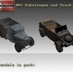 WW2 German Military Vehicles ( 48.66KB jpg by WW2Model )