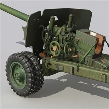 Uigeacht antitank bs3 3d model max 80095