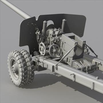 bs3 antitank texture 3d model max 80099