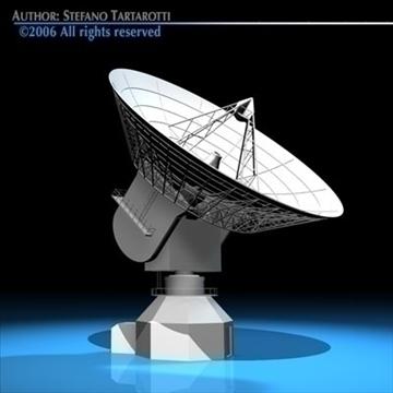 satelit antena 3d model 3ds dxf c4d obj 82125