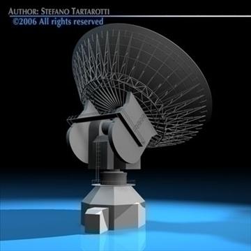 satelit antena 3d model 3ds dxf c4d obj 82126