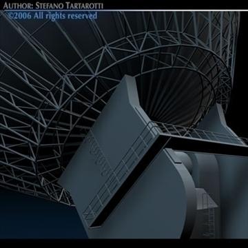 satelit antena 3d model 3ds dxf c4d obj 82127