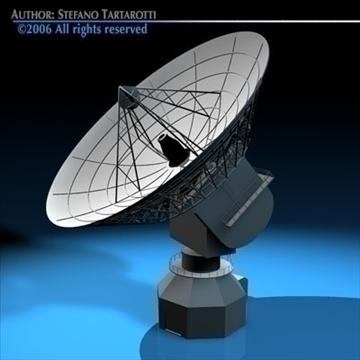 satelit antena 3d model 3ds dxf c4d obj 82128